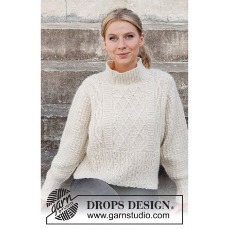 Drops Ice Castles Sweater 218-3