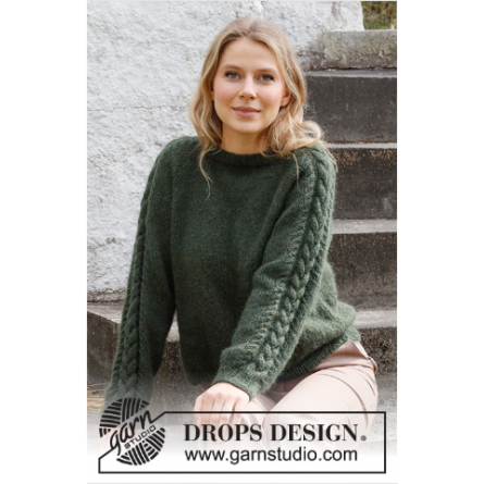Drops Deep Woods Sweater 215-5
