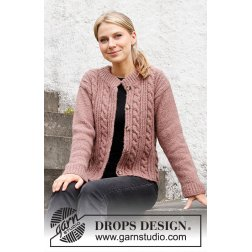 Drops Rippling Roses Jacket 218-16