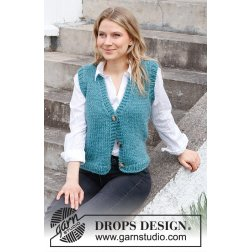 Drops Vermillion Lake Vest 215-38