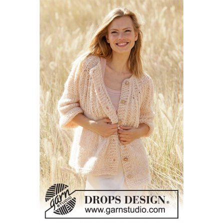 Drops Summer Peach Jacket 212-25