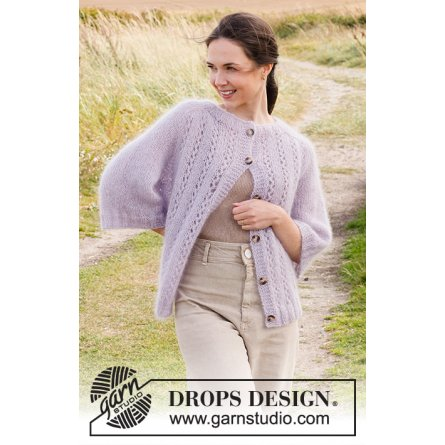 Drops Lost in Lavender Cardigan 222-2
