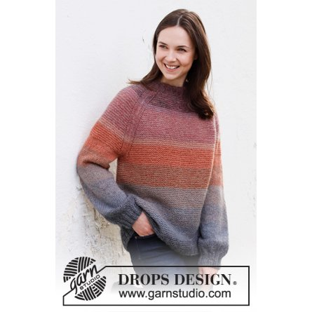 Drops Sunsets Glow Jumper 217-26