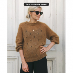Petite Knit Fortune Sweater