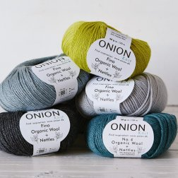 Onion No.4 Organic Wool + Nettles - øko
