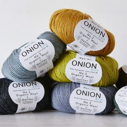 Onion No. 3 Organic Wool + Nettles - øko