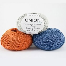 Onion Fino org. cotton & merino wool - øko