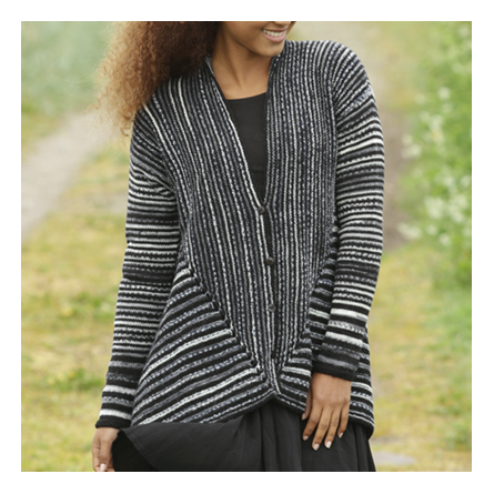 Drops Cardigan Midnight Roads 173-14