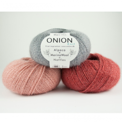 Onion Alpaca + Wool + Nettles