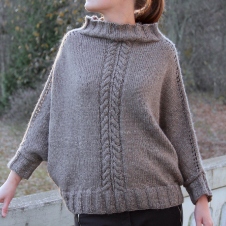 Knithouse Poncho-sweater