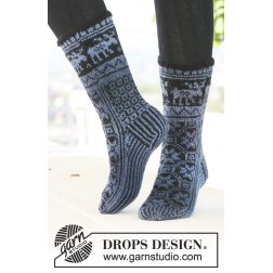 Drops Parade Socks 121-3