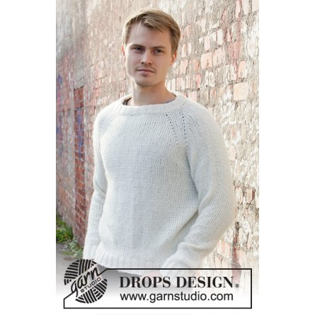 Drops Carly Pullover Herrer 208-1
