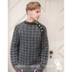 Navia Sweater m hanefjedmønster, model 12-NB11